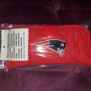 Handbags - New England Patriots Cosmetic Holder Filled